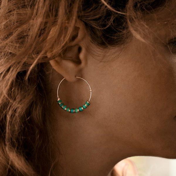 Marianne Vey - Boucles d'oreilles