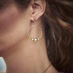Boucles d'oreilles collection Marianne Vey Automne-Hiver 2020-21